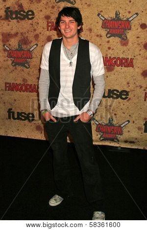 Talan Torriero at the Fuse Fangoria Chainsaw Awards. Orpheum Theatre, Los Angeles, CA. 10-15-06