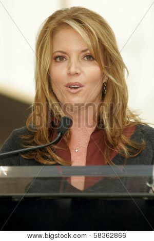 Jeanie Buss at the Ceremony Honoring Los Angeles Lakers Owner Jerry Buss with the 2,323rd star on the Hollywood Walk of Fame. Hollywood Boulevard, Hollywood, CA. 10-30-06