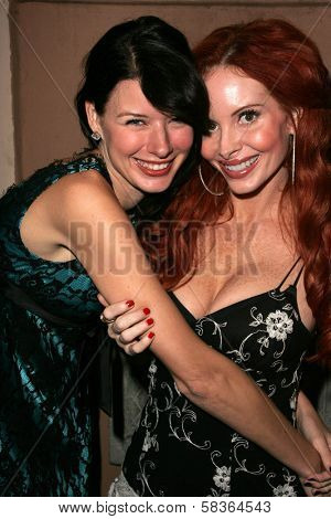 Andrea Harrison and Phoebe Price at the birthday party for Phoebe Price. Private Location, Los Angeles, CA. 10-11-06