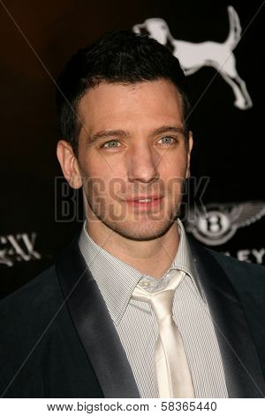 J.C. Chasez at the William Rast Spring 2007