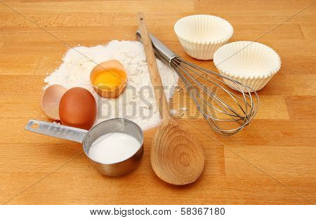 Cup Cake Ingredients