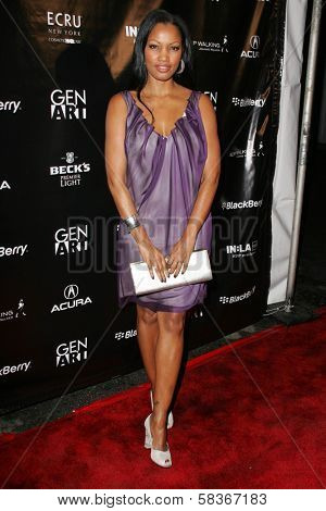 Garcelle Beauvais-Nilon at the Gen Art 9th Annual Fresh Faces in Fashion event, Barker Hanger, Santa Monica, CA 10-13-06