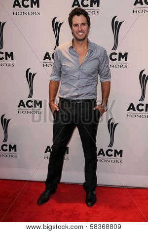 Luke Bryan at the 6th Annual ACM Honors, Ryman Auditorium, Nashville, TN 09-24-12