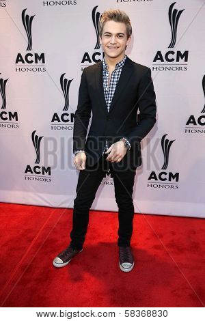 Hunter Hayes at the 6th Annual ACM Honors, Ryman Auditorium, Nashville, TN 09-24-12