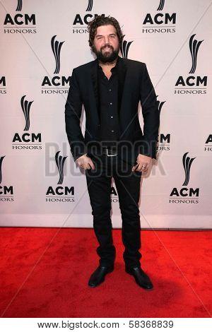Dallas Davidson at the 6th Annual ACM Honors, Ryman Auditorium, Nashville, TN 09-24-12