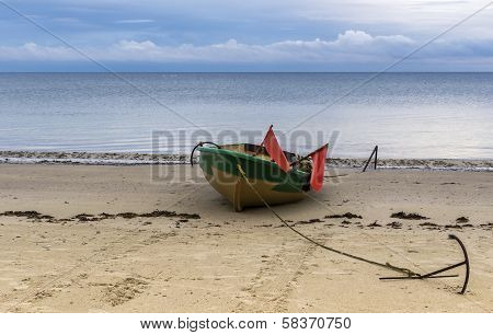 Gulf of Riga in Kurzeme costal region is a beauty territory where the history of traditional Latvian fisheries meets with marvelous scenic seascapes