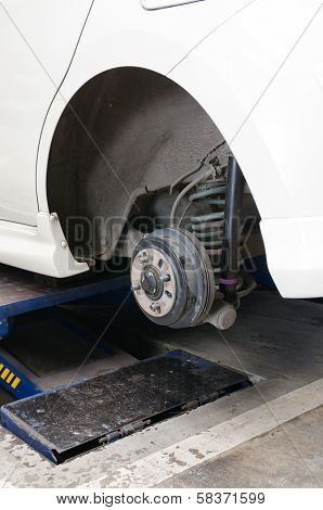 Rear drum brake