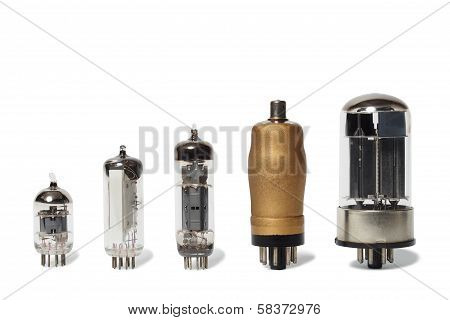 Set Of Vacuum Tubes