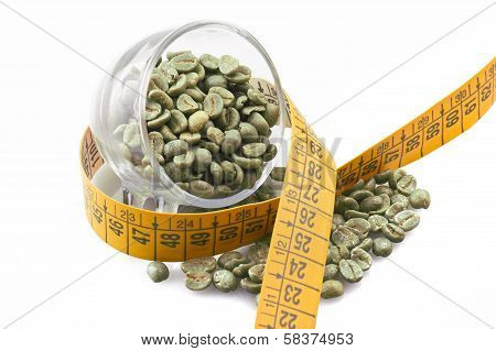 Diet with green coffee