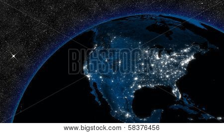 Night In North America