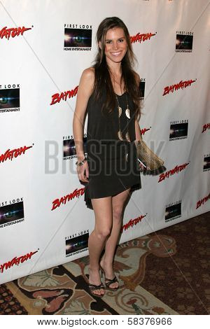 Christine Danielle at the DVD Release of