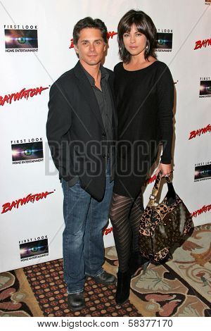 Billy Warlock and Julie Pinson at the DVD Release of