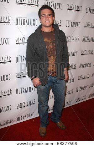 Joshua LeBar at the Sonya Dakar Skin Clinic Opening. Sonya Dakar SKin Clinic, Beverly Hills, CA. 10-24-06