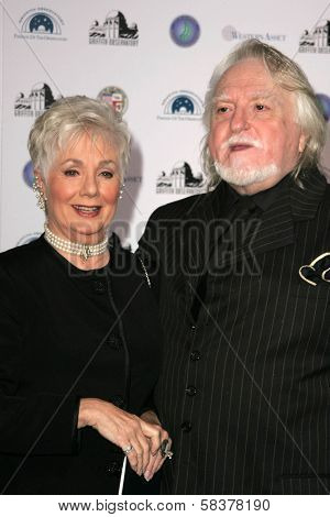 Shirley Jones and Marty Ingels at the Griffith Observatory Re-Opening Galactic Gala. Griffith Observatory, Los Angeles, CA. 10-29-06