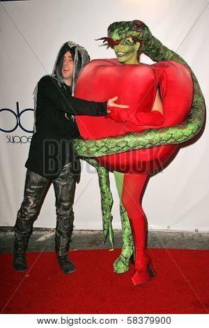 Jeffrey Sebelia and Heidi Klum at Heidi Klum's 7th Annual Halloween Party, Privilege, Los Angeles, CA 10-31-06