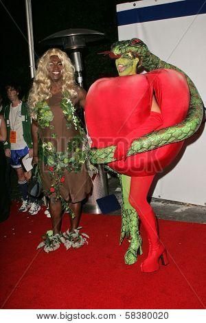 Seal and Heidi Klum at Heidi Klum's 7th Annual Halloween Party, Privilege, Los Angeles, CA 10-31-06