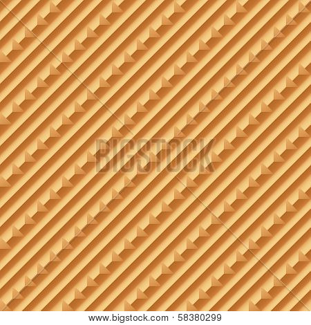Wooden textured background. Vector illustration