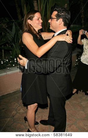 Jennifer Garner and J.J. Abrams at the Children's Defense Fund's 16th Annual Los Angeles Beat the Odds Awards. Beverly Hills Hotel, Beverly Hills, CA. 10-12-06