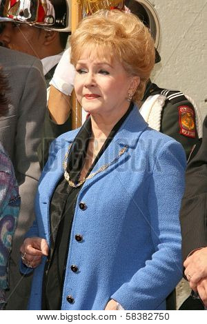 Debbie Reynolds at the award ceremony honoring Ruta Lee with a star on the Hollywood Walk of Fame. Hollywood Blvd., Hollywood, CA. 10-10-06