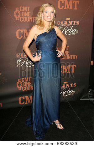 Melissa Peterman at the CMT Giants honoring Reba McEntire. Kodak Theatre, Hollywood, CA. 10-26-06