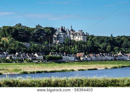 Chaumont Sur Loire Village And Castle, Loir-et-cher, France