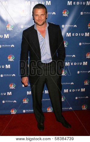 David Cubitt at the NBC fall party for the hit drama