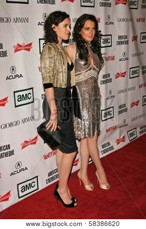Rumer Willis and Lindsay Lohan at the 21st Annual American Cinematheque Award Honoring George Clooney. Beverly Hilton Hotel, Beverly Hills, CA. 10-13-06