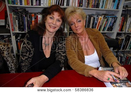 Kay Parker, Rhonda Jo Petty at a book signing for
