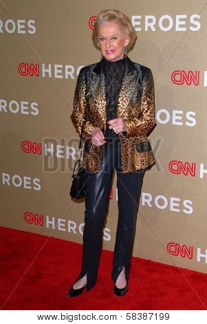 Tippi Hedren at CNN Heroes: An All Star Tribute, Shrine Auditorium, Los Angeles, CA 12-02-12
