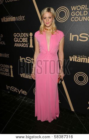 Georgia King at the Hollywood Foreign Press Association And InStyle Miss Golden Globe 2013 Party, Cecconi's, Los Angeles, CA 11-29-12
