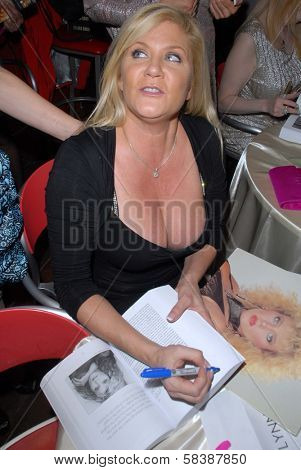 Ginger Lynn at the