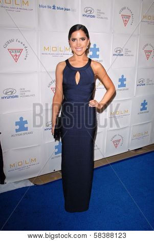 Caren Brooks at the Blue Tie Blue Jean Ball, presented by Austism Speaks, Beverly Hilton, Beverly Hills, CA 11-29-12