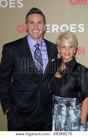 Kurt Warner and Brenda Warner at CNN Heroes: An All Star Tribute, Shrine Auditorium, Los Angeles, CA 12-02-12