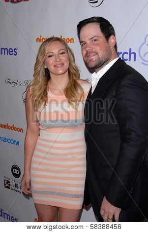 Hilary Duff, Mike Comrie at the 2012 March Of Dimes Celebration Of Babies, Beverly Hills Hotel, Beverly Hills, CA 12-07-12