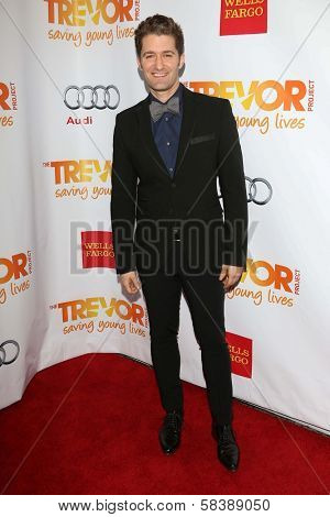 Matthew Morrison at the 2012 Trevor Project Live, Palladium, Hollywood, CA 12-02-12