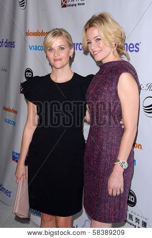 Reese Witherspoon, Elizabeth Banks at the 2012 March Of Dimes Celebration Of Babies, Beverly Hills Hotel, Beverly Hills, CA 12-07-12