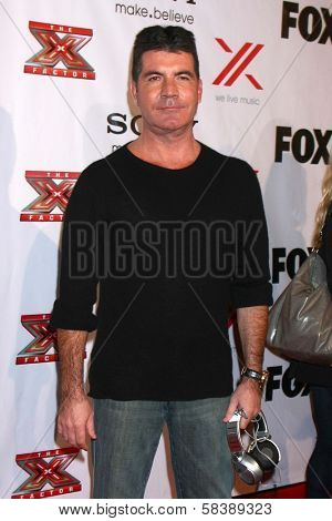 Simon Cowell at The X-Factor Viewing Party, Mixology, Los Angeles, CA 12-06-12