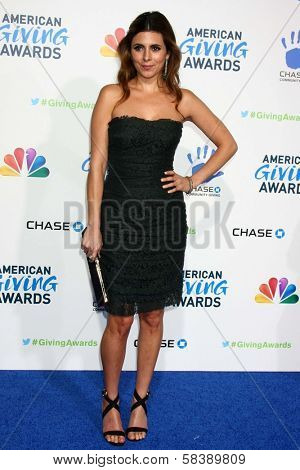 Jamie-Lynn Sigler at the Second Annual American Giving Awards, Pasadena Civic Auditorium, Pasadena, CA 12-07-12