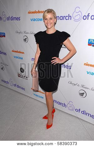 Reese Witherspoon at the 2012 March Of Dimes Celebration Of Babies, Beverly Hills Hotel, Beverly Hills, CA 12-07-12