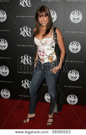 WEST HOLLYWOOD - OCTOBER 18: Fernanda Romero at Rock And Republic Spring Fashion Show October 18, 2006 in West Hollywood, California