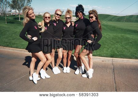 LAS VEGAS - OCTOBER 15 Playboy Participents at the Playboy's Golf Scramble Semi Finals October 15, 2006 in Las Vegas, Nevada.