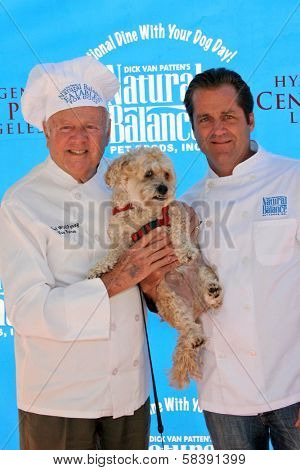 CENTURY CITY - OCTOBER 19: Dick Van Patten and Jimmy Van Patten at the kick off for