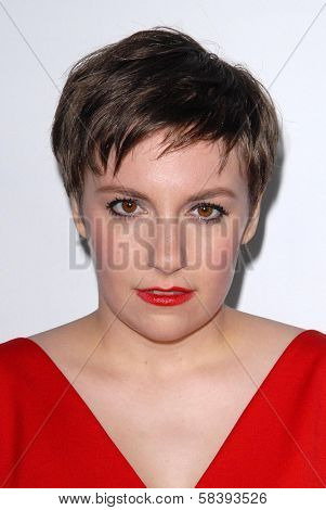 Lena Dunham at the