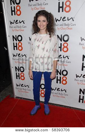 Katlin Mastandrea at the NOH8 Campaign 4th Anniversary Celebration, Avalon, Hollywood, 12-12-12