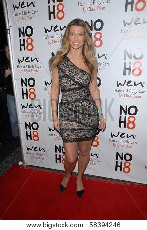 Amber Smith at the NOH8 Campaign 4th Anniversary Celebration, Avalon, Hollywood, 12-12-12