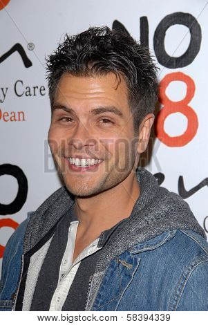 Erik Valdez at the NOH8 Campaign 4th Anniversary Celebration, Avalon, Hollywood, 12-12-12