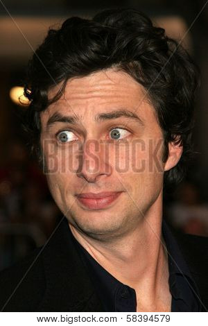 WESTWOOD, CA - NOVEMBER 05: Zach Braff at a Special Presentation of