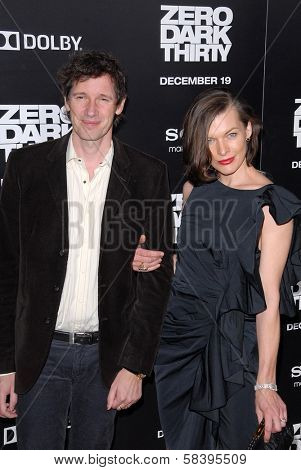 Paul WS Anderson, Milla Jovovich at the