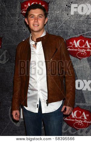 Scotty McCreery at the 2012 American Country Awards, Mandalay Bay, Las Vegas, NV 12-10-12