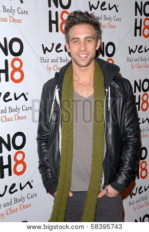 Blake Berris at the NOH8 Campaign 4th Anniversary Celebration, Avalon, Hollywood, 12-12-12